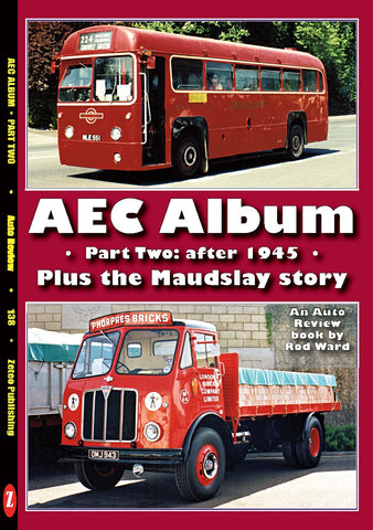 Auto Review Books BMW AEC Album Part 2 - after 1945