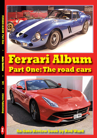 Auto Review Books Ferrari Album
