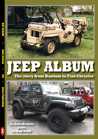 Auto Review Books Jeep Album