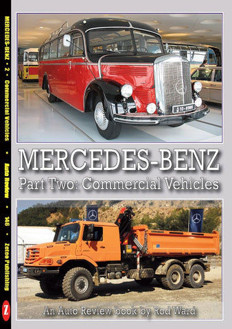 Auto Review Books Mercedes-Benz part 2 : Commercial Vehicles