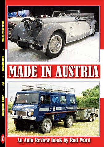 Auto Review Books Made In Austria Album