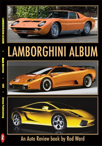 Auto Review Books Lamborghini Album