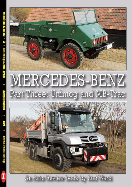 Auto Review Books Mercedes Benz Part 3: Unimog and MB-Trac