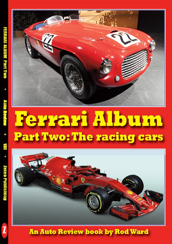 Auto Review Books Ferrari Album part 2: the racing cars