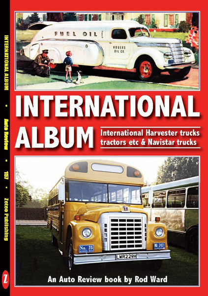 Auto Review Books International Album