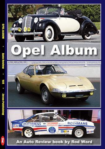 Auto Review Books Opel Album