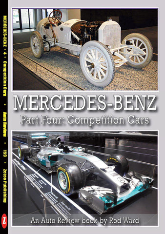 Auto Review Books Mercedes-Benz Part Four: Competition Cars