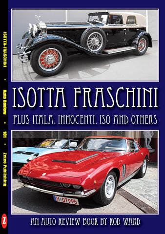 Auto Review Books Italian and other Italian 'I' marques Album