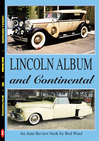 Auto Review Books Lincoln and Continental Album