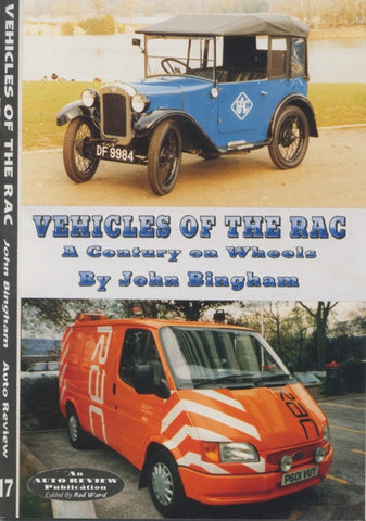 AUTO REVIEW AR17 Vehicles of the RAC By John Bingham - OxfordDiecast
