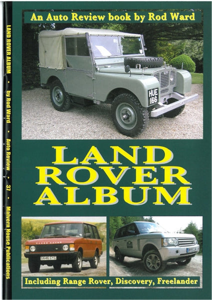AUTO REVIEW AR37 Land Rover Album By Rod Ward - OxfordDiecast