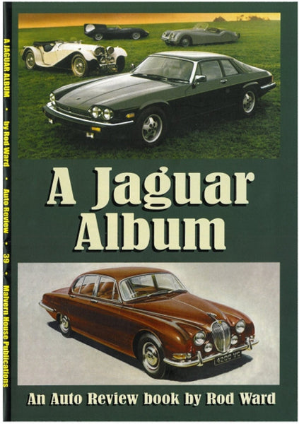 AUTO REVIEW AR39 Jaguar Album By Rod Ward - OxfordDiecast