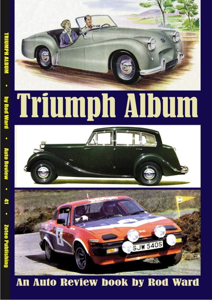 AUTO REVIEW AR41 Triumph Album By Rod Ward - OxfordDiecast
