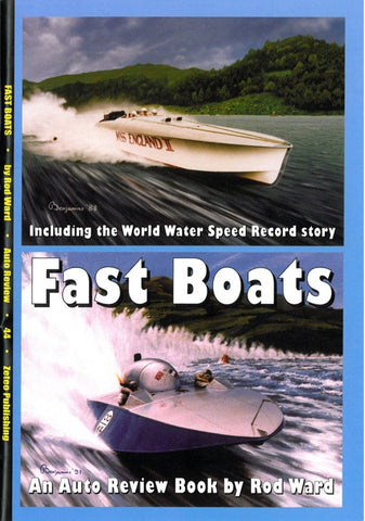 AUTO REVIEW AR44 Fast Boats By Rod Ward - OxfordDiecast