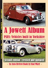 Auto Review Books A Jowett Album plus vehicles built in Yorkshire