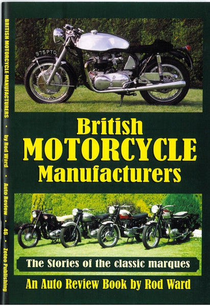 AUTO REVIEW AR46 British Motorcycle Manufacturers by Rod Ward - OxfordDiecast