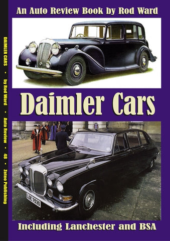 AUTO REVIEW AR48 Daimler Cars, Includes Lanchester and BSA by Rod Ward - OxfordDiecast