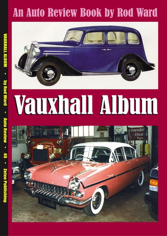 AUTO REVIEW AR49 Vauxhall Album By Rod Ward - OxfordDiecast