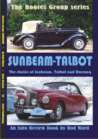 AUTO REVIEW AR52 Sunbeam Talbot, Including Sunbeam, Talbot and Darracq - OxfordDiecast