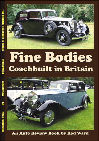 AUTO REVIEW AR55 Fine Bodies: Coachbuilt in Britain By Rod Ward - OxfordDiecast
