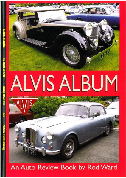 AUTO REVIEW AR56 Alvis Album By Rod Ward - OxfordDiecast
