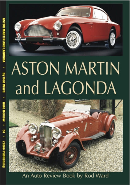 AUTO REVIEW AR57 Aston Martin and Lagonda By Rod Ward - OxfordDiecast
