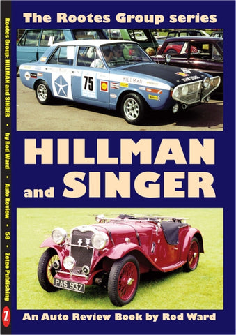 AUTO REVIEW AR58 Hillman and Singer By Rod Ward - OxfordDiecast