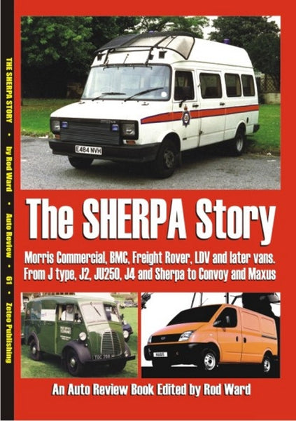 AUTO REVIEW AR61 The Sherpa Story By Rod Ward - OxfordDiecast