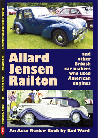 AUTO REVIEW AR62 Allard,Jensen,Railton & more users of Amercian Engine - OxfordDiecast