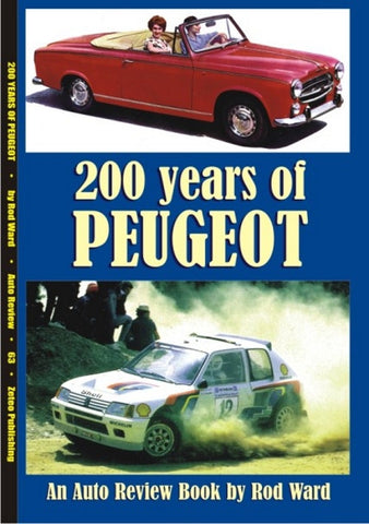 AUTO REVIEW AR63 200 Years of Peugeot By Rod Ward - OxfordDiecast