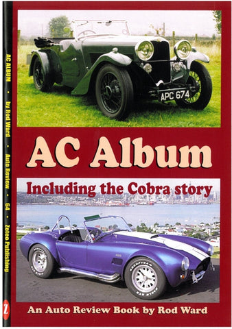 AUTO REVIEW AR64 AC Album: Including the Cobra story By Rod Ward - OxfordDiecast