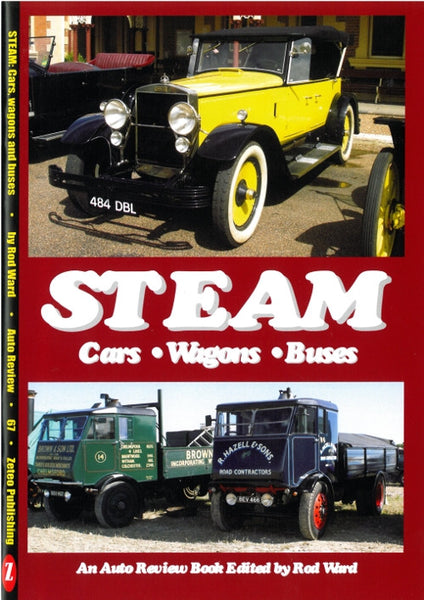 AUTO REVIEW AR67 Steam Cars, Wagons and Buses By Rod Ward - OxfordDiecast