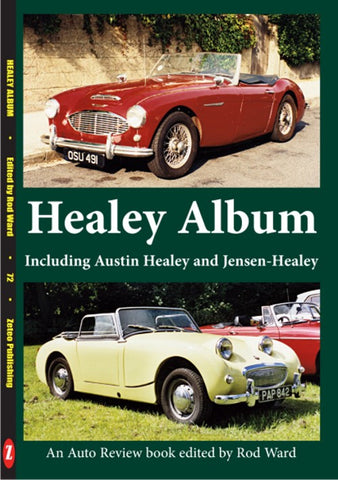 AUTO REVIEW AR72 Healey Album plus the Austins and Jensens by Rod Ward - OxfordDiecast