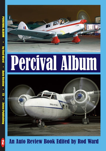 AUTO REVIEW AR73 Percival Album Edited by Rod Ward - OxfordDiecast
