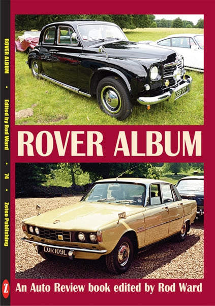 AUTO REVIEW AR74 Rover Album Edited by Rod Ward - OxfordDiecast