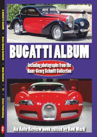 AUTO REVIEW AR77 Bugatti Album By Rod Ward photos Hans-Georg Schmitt - OxfordDiecast