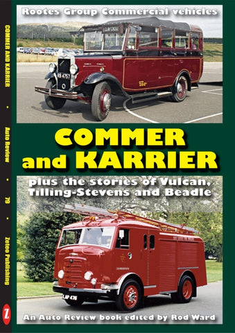 AUTO REVIEW AR79 Commer & Karrier, Tilling-Stevens andmore by Ward - OxfordDiecast