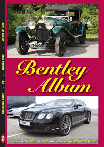 AUTO REVIEW AR83 Bentley Album Edited by Rod Ward - OxfordDiecast