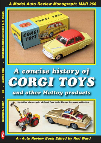 AUTO REVIEW AR84 Corgi Toys and Mettoy products Edited by Rod Ward - OxfordDiecast
