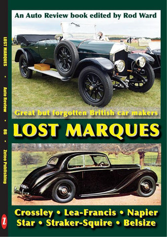 AUTO REVIEW AR86 Lost Marques forgotten British car makers By Rod Ward - OxfordDiecast