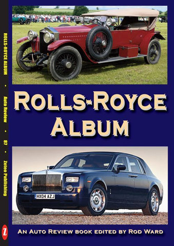AUTO REVIEW AR87 Rolls-Royce Album By Rod Ward - OxfordDiecast