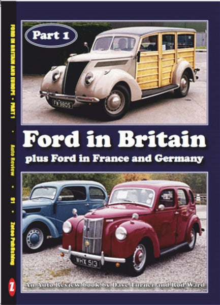 AUTO REVIEW AR91 Ford in Britain France and Germany-Turner & Ward - OxfordDiecast