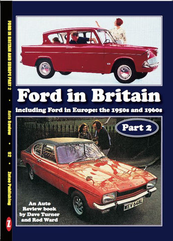 AUTO REVIEW AR92 Ford in Britain including Europe -Turner & Ward - OxfordDiecast