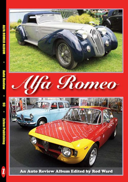 AUTO REVIEW AR93 Alfa Romeo; An Auto Review Album edited by Rod Ward - OxfordDiecast