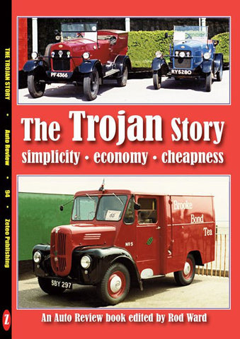 AUTO REVIEW AR94 The Trojan Story by Rod Ward - OxfordDiecast