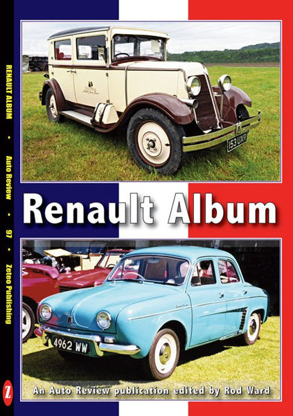AUTO REVIEW AR97 Renault Album By Rod Ward - OxfordDiecast