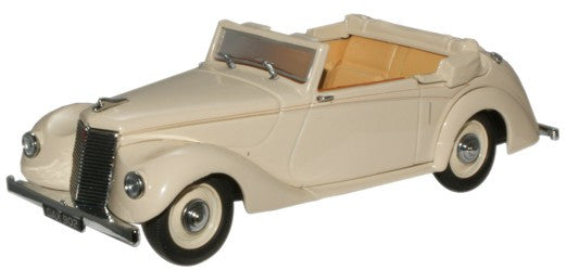 Oxford Diecast Arm Siddeley Hurricane (Open) Gazelle Fawn - 1:43 Scale
