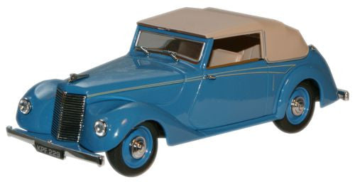 Oxford Diecast Bluebird Blue (Malcolm Campbell) Armstrong Siddeley Hur