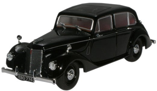 Oxford Diecast Armstrong Siddeley Lancaster Black - 1:43 Scale