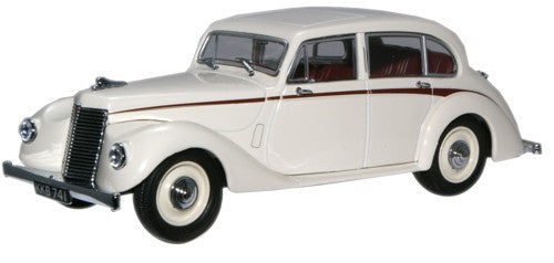 Oxford Diecast Ivory Armstrong Siddeley Lancaster - 1:43 Scale